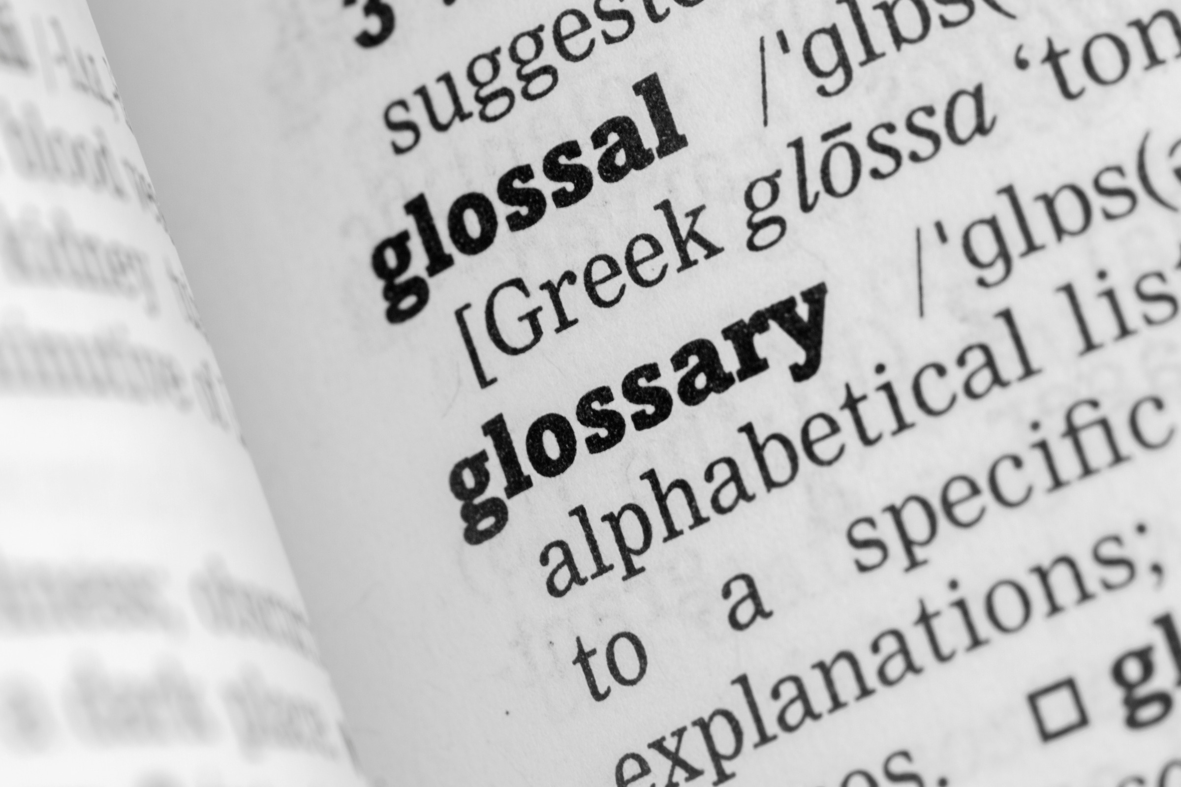 PR Jargon Glossary